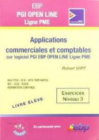 Ebp Pgi Open Line Pro - Livre Eleve - Applications Commerciales et Comptables Sur Pgi Ebp Open Line