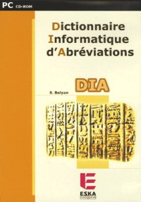 CD ROM Dict. Informatique d'Abreviations