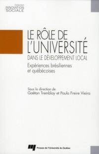 Role de l Université Dans le Developpement Local