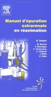 Manuel d'épuration extrarénale en réanimation: POD