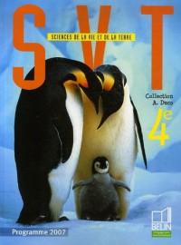 Sciences de la Vie et de la Terre 4e : Programme 2007