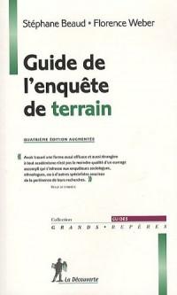Guide de l'enquête de terrain : Produire et analyser des données ethnographiques