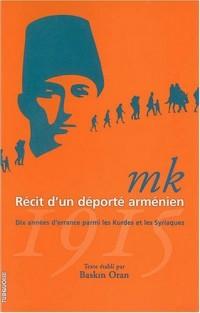 MK Récit d'un déporté arménien, 1915