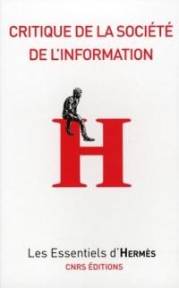 Critique de la société d'information