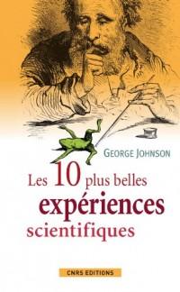 Les dix plus belles expériences scientifiques