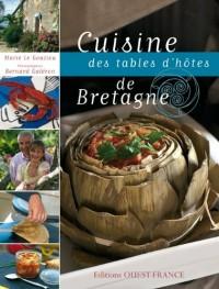 Cuisine des tables d'hôtes de Bretagne